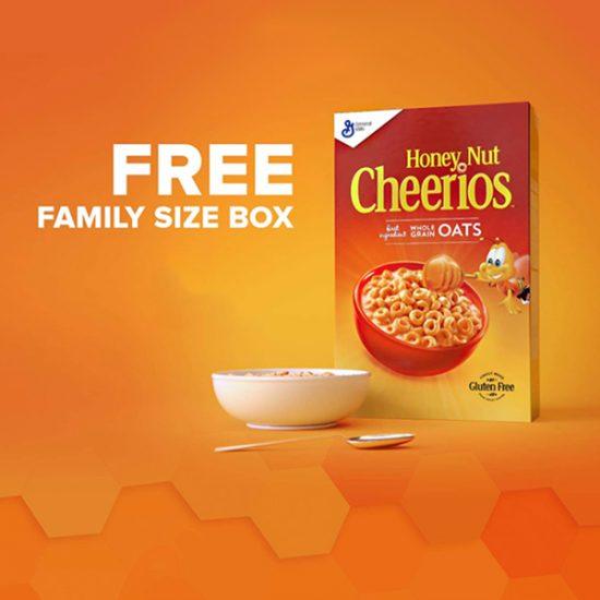 Free Family Size Box of Honey Nut Cheerios (Amazon Prime Only)