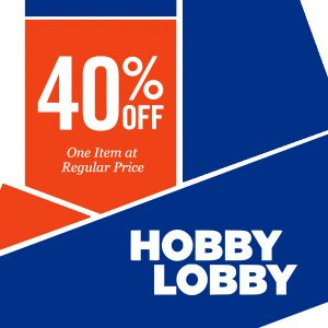Get 40% Off Any One Regular Priced Item w/ Coupon