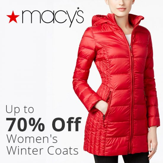 Up To 70 Off Women S Winter Coats Extra 30 Off Senior