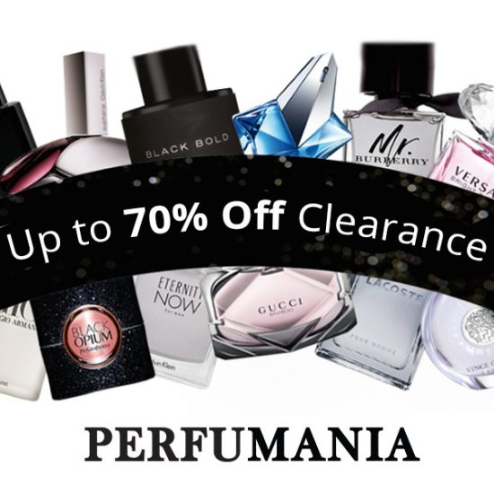 Up to 70% Off Clearance Perfumes + Extra 20% Off