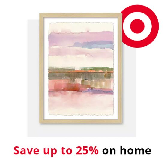 Target: Save Up to 25% on Home + Extra 15% Off