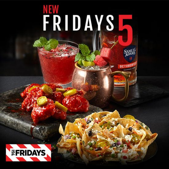 Friday Menu: $5 Appetizers & Drinks
