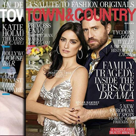 91% Off Town & Country Magazine 1-Year Subscription