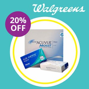 20% Off All Contact Lenses w/ Code