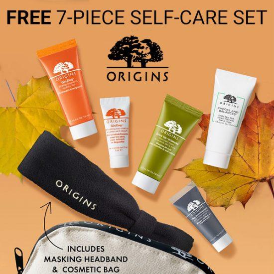 Free 7-Piece Skin Care Set w/ $65 Purchase