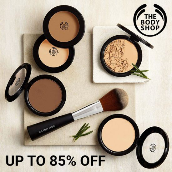 Up to 85% Off The Body Shop Cosmetics + FREE Shipping