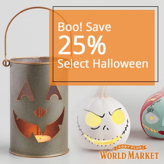 25% Off Halloween Decor, Skulls, Lights & More