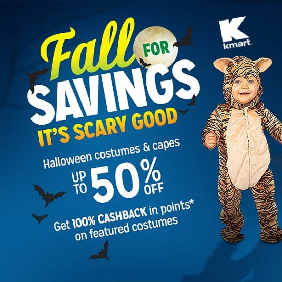 Up to 50% Off Halloween Costumes & Decor