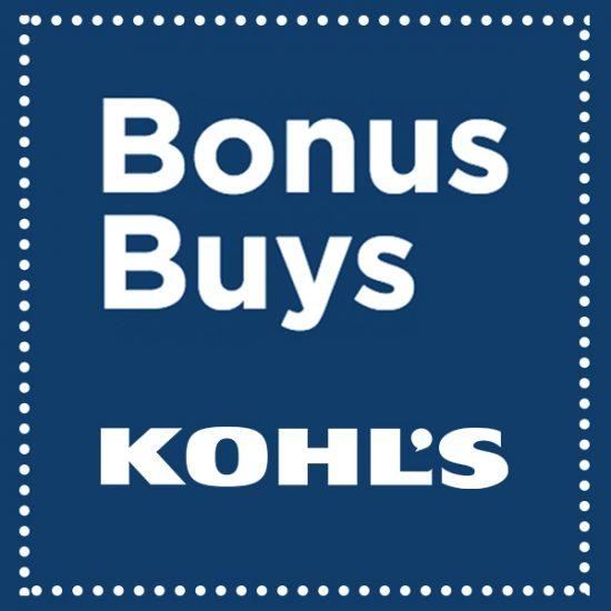 Kohl's Bonus Buys