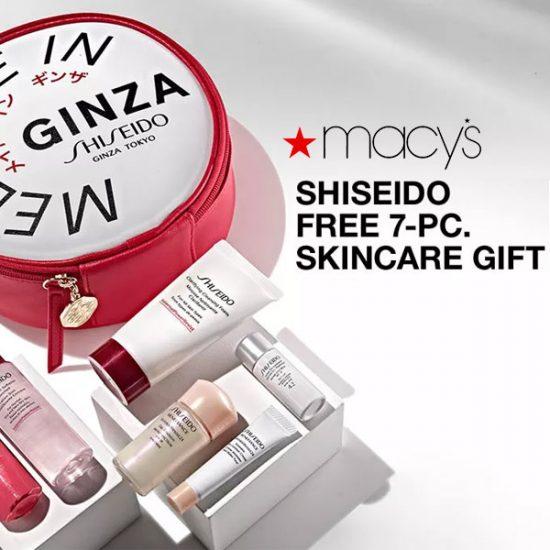FREE 7-Pc. Skincare Gift ($101 Value) w/ Shiseido Purchase
