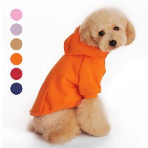 61% Off Dog Hoodie Sweatshirt with Pockets