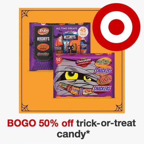 Buy 1 Get 1 50% Off Halloween Candy