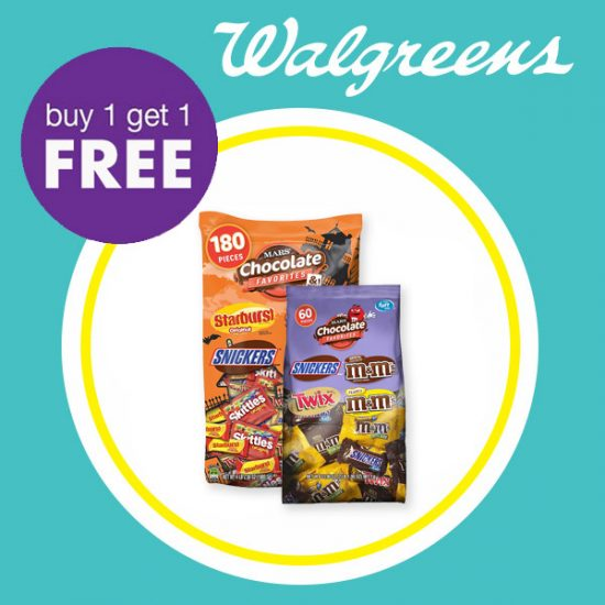 Buy 1 Get 1 Free Halloween Candy & Snacks