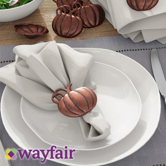 30% Off Thanksgiving Dinnerware & Table Decor Sale
