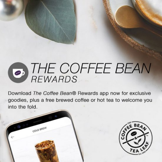 FREE Coffee or Tea w/ App Download Senior Discounts Club