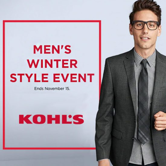 Men's Winter Style Event