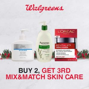 Buy 2 Get 3rd FREE Mix & Match Skin Care