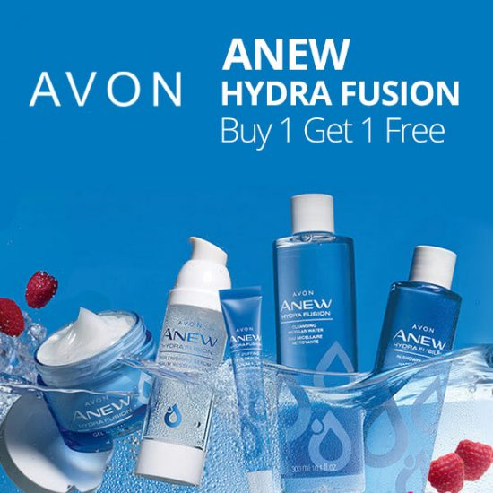 Buy One Get One FREE Avon Anew Hydra Fusion