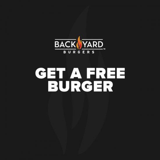 FREE Back Yard Classic Burger w/ Sign Up