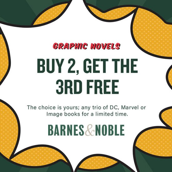 Graphic Novels: Buy 2, Get 3rd FREE! Limited Time Only