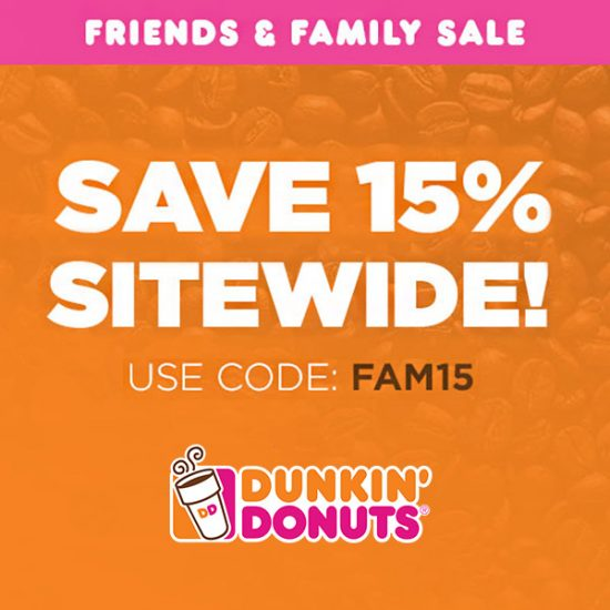 Extra 15% Off Friends & Family Sale