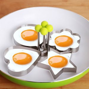 67% Off Stainless Steel Mold for Eggs & Pancakes (Various Shapes)
