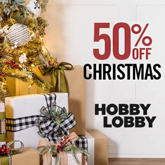 Up to 50% off Christmas Decors