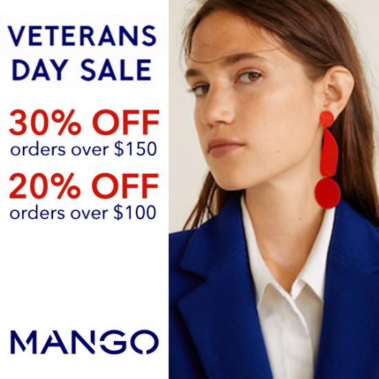 Veterans Day Sale: Up to 30% Off