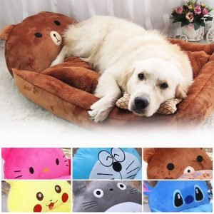 63% Off Adorable Animal Cartoon-Shaped Pet Bed