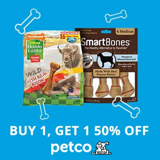 BOGO 50% Off Select Dog Treats