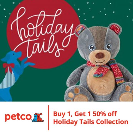 Buy 1 Get 1 50% Off Holiday Tails Collection