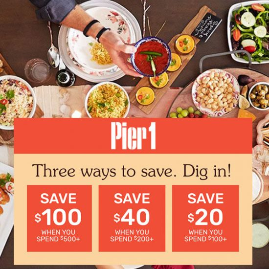 3 Ways to Save: Up to $100 Off w/ Purchase