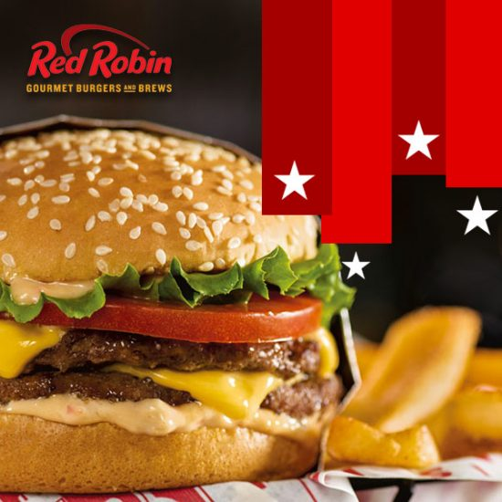 FREE Red Robin Double Burger w/ Steak Fries (11/11)