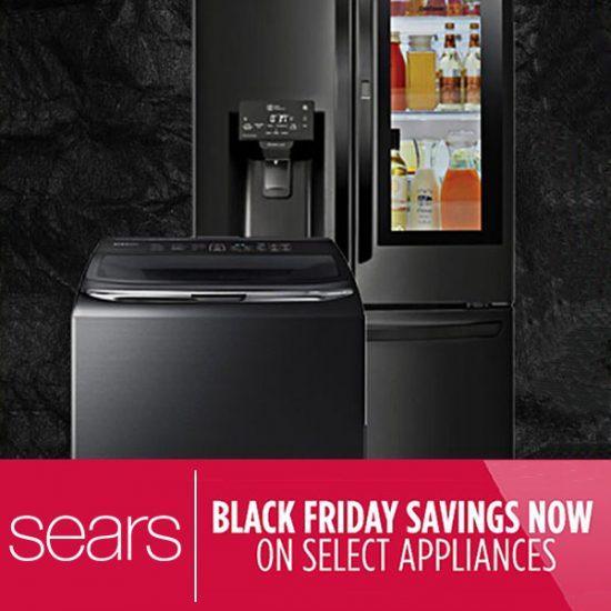 Black Friday Savings on Select Appliances