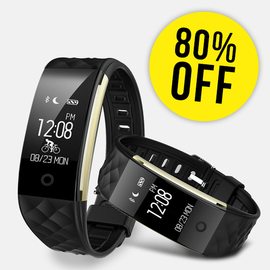 80% Off Smart Wristband Heart Rate Monitor