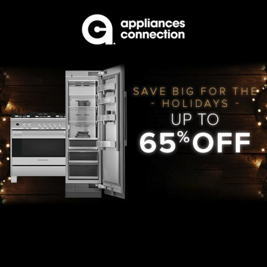 Up to 65% Off Appliances and Furniture