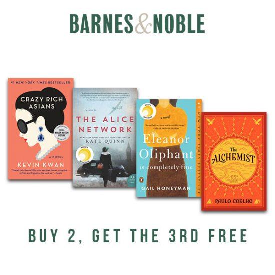 Buy 2, Get 3rd Free Paperbacks