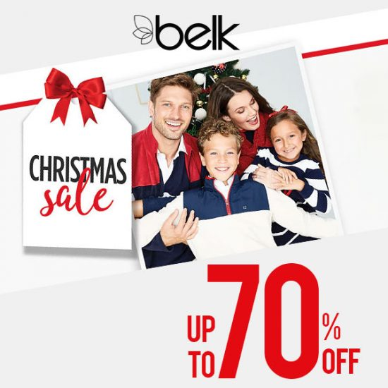 Christmas Sale: Up to 70% Off