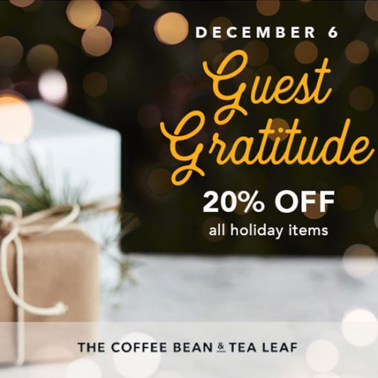 TODAY ONLY: 20% Off Holiday Items With Code