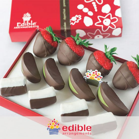 33% Off Chocolate-Dipped Mixed Fruit Boxes