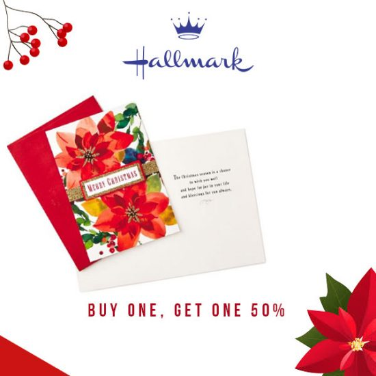 Buy 1, Get 1 50% Off Boxed Cards and Accessories