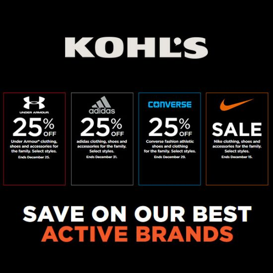 d280f6110aac 25% Off Under Armour, Adidas, Converse, and Discounts at Nike Senior ...