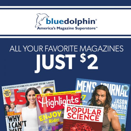 Up to 6 Magazine Subscriptions for ONLY $2 ($100 Value)