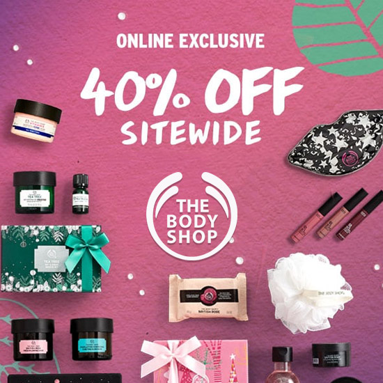 40% Off Everything Sitewide + Free Shipping