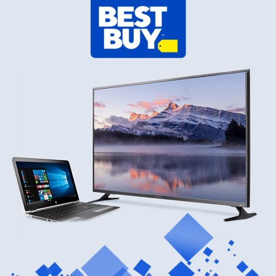 ENDS 1/12! Discounts on HDTVs, Laptops & More