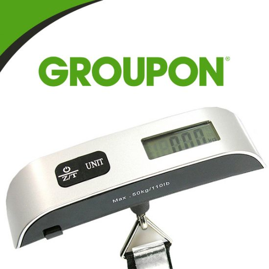 LIMITED TIME REMAINING: 60% Off Digital Luggage Scale