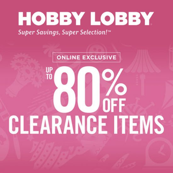 Online Exclusive: Up to 80% Off Clearance Items