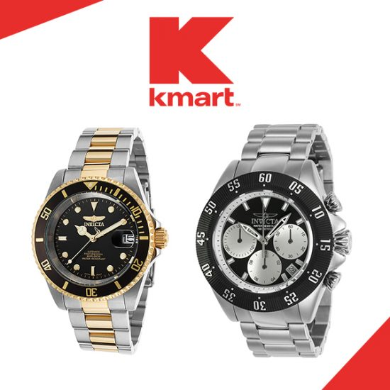 80% Off Men's Invicta Watches + Free Shipping