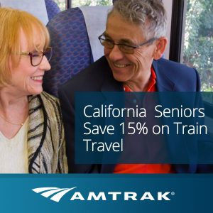 Seniors Save 15% on Select California Routes