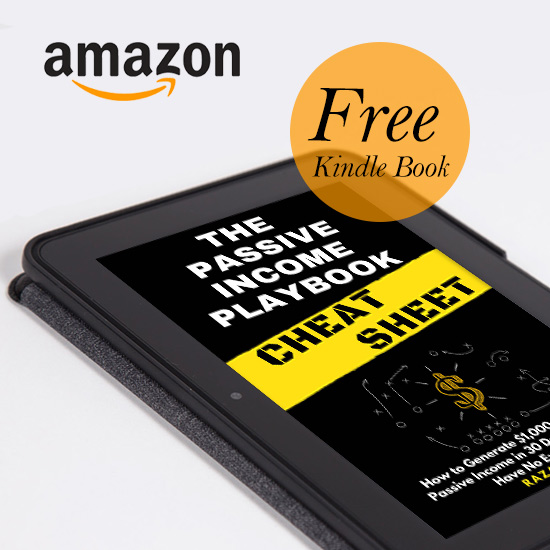 Free Kindle Book: The Passive Income Playbook Cheat Sheet